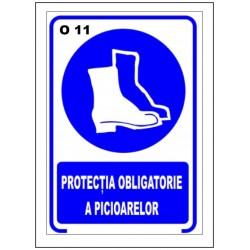 Protectia oblicatorie a picioarelor