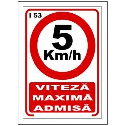 Viteza maxima 5km/h